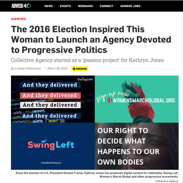 Collective Agency In Adweek